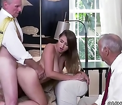 Verified amateur redhead Ivy impresses with her large breasts and ass