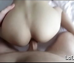 Cock-starved thai shemale gets ass gangbanged without mercy