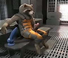 Rocket Raccoon Solo jerk (WITH SOUND)