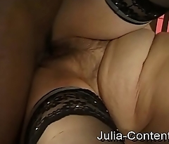 Cleaning lady fucked by big cock