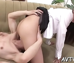 Dude is having wild enjoyment fingering japanese chick'_s pussy