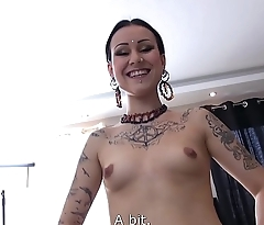Alt babe Wants Hard Shaft in her Wet Muff and a Cumshot