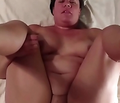 Chubby woman with a huge pair of tits does POV blowjob and gets pussy fucked on the tastiest way ever