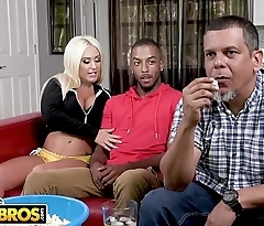 BANGBROS - Brandi Bae Gets Dicked Down By Her Father'_s Black Friend