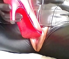 Fetish Boot Masturbation