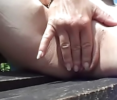 a little fingering in the sunshine