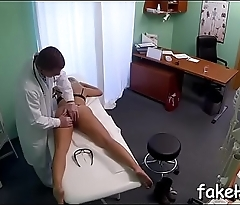 Sexy and sexy doctor is about to have a fun the long-awaited sex