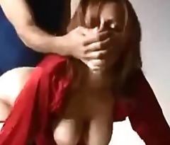 Amateur hot redhead wife doggystyle