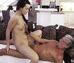 Blonde anal daddy What would you choose - computer or your girlchum?