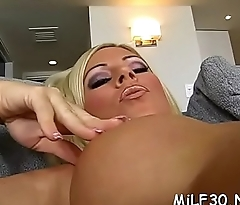 Hungry mother i'_d like to fuck enjoys getting ardent drilling from stud