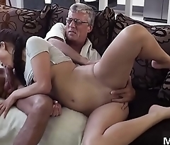 Old couple having sex What would you choose - computer or your