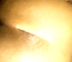 Ass bouncing back while listening to music
