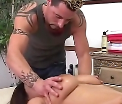 Whitney Stevens - She get a massage and a big dick