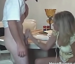 Mom and son sex after school